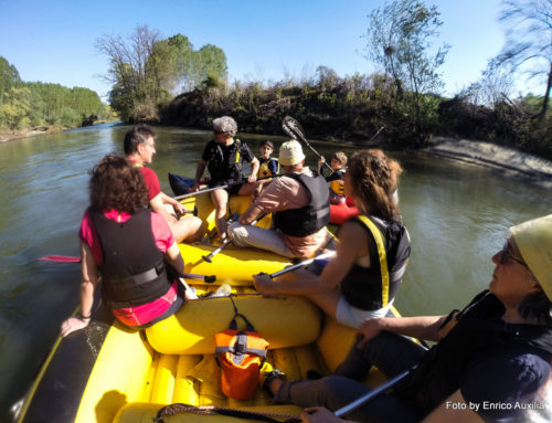 Soft Rafting, discesa del Po per tutti