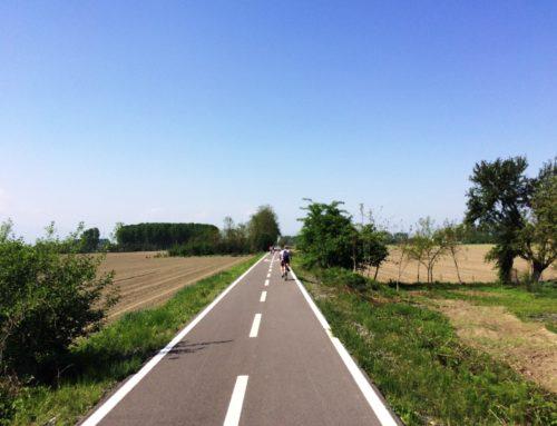 In bicicletta per le vie della pianura. Il tratto Vigone – Villafranca – Moretta