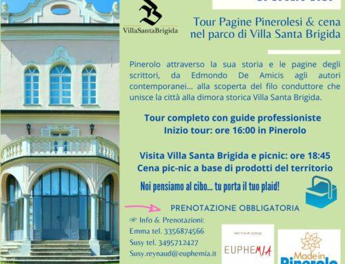 Tour Pagine Pinerolesi e cena nel Parco di Villa Santa Brigida