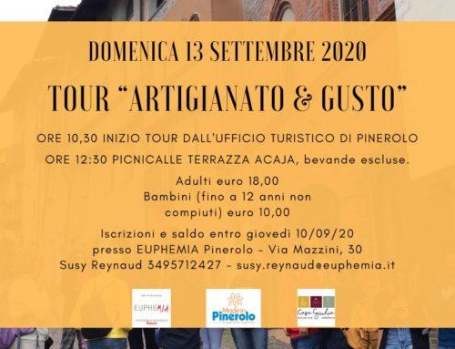 "Tour ""Artigianato & Gusto"" a Pinerolo"